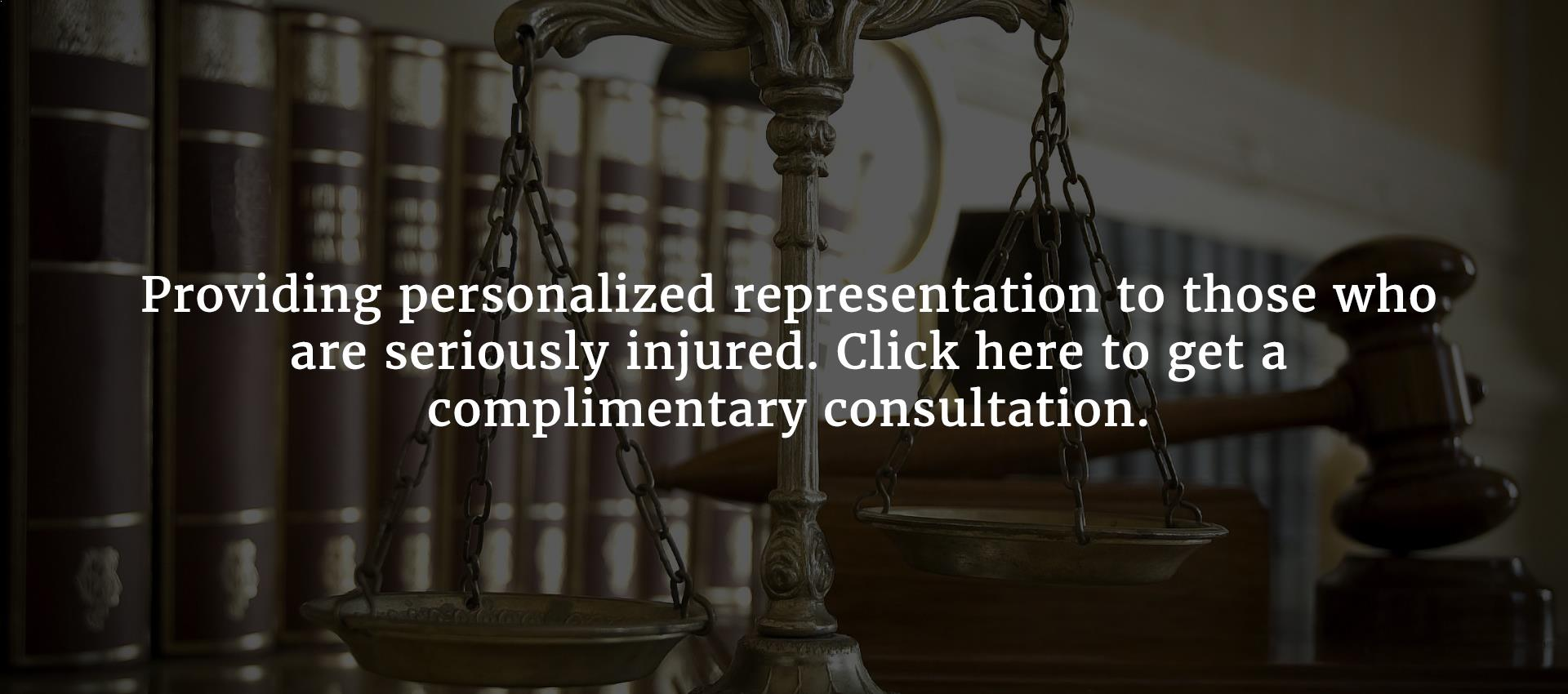 Get a complimentary motor vehicle accident attorney consultation