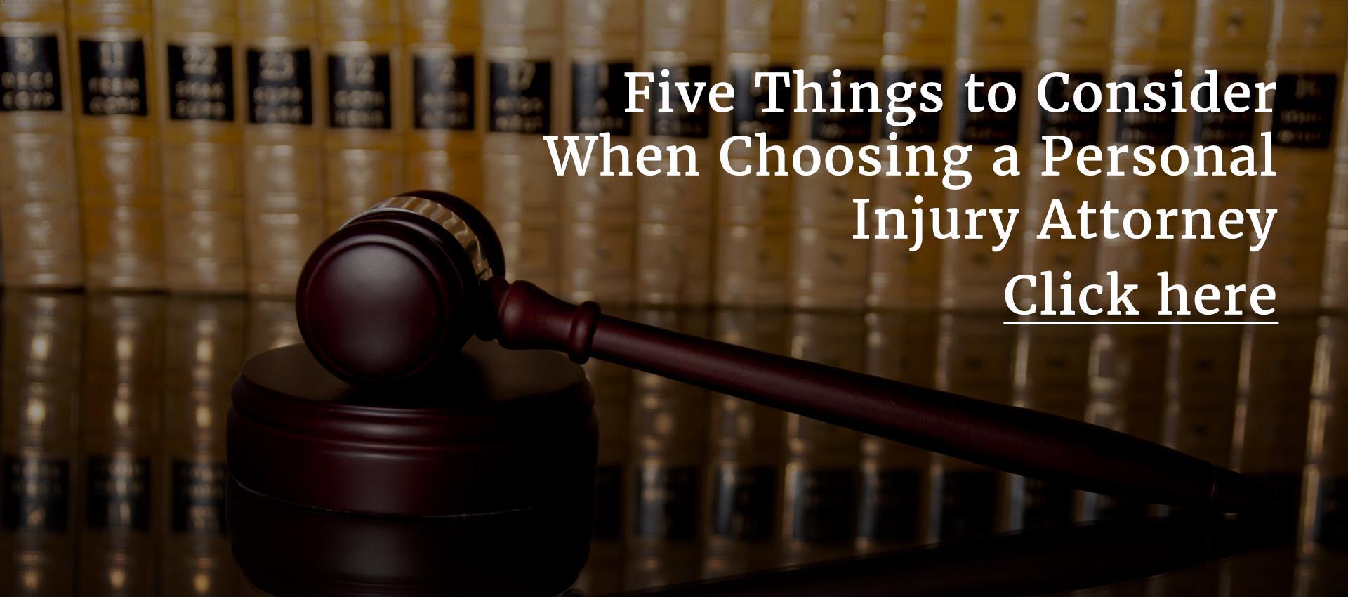 Personal Injury Attorney Trinity FL