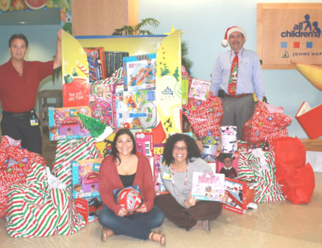 Christmas Toy Drive – All Donations Matched!